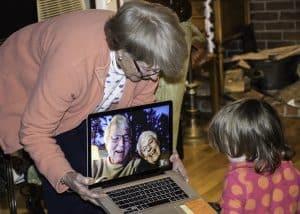 rola dziadkow babcia