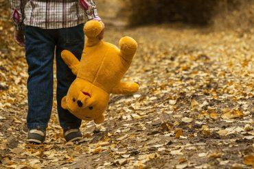 Jesień z dzieckiem