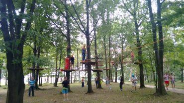 Park linowy w Gliwicach