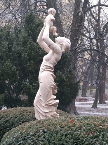 Park Róż Chorzów – plac zabaw na Różance